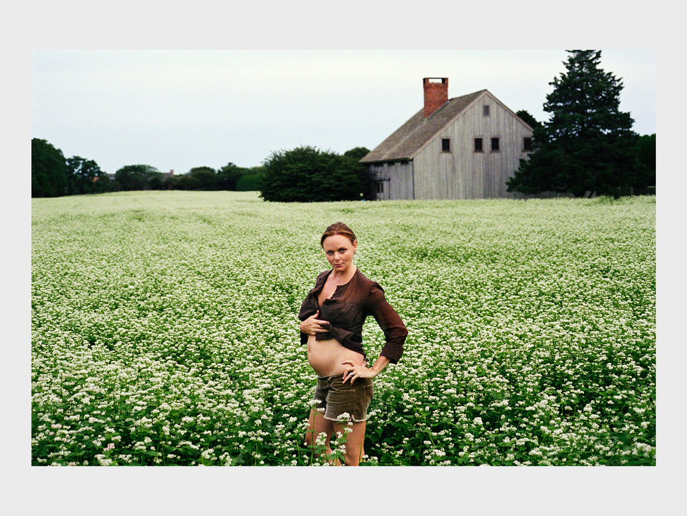 "Mary McCartney    Stella in Flower Field , 2004 C-print 100,2 x 150,5 cm  ""The iconic photographer Mary McCartney visited CFHILL a little more than a year ago. She has a fantastic way to express every day situations from surprising angles. Here's her sister Stella McCartney, the fashion designer. An adorable portrait. The exhibition  Mother & Daughter , featuring photos from Mary and Linda McCartney, are shown at Fotografiska right now."""
