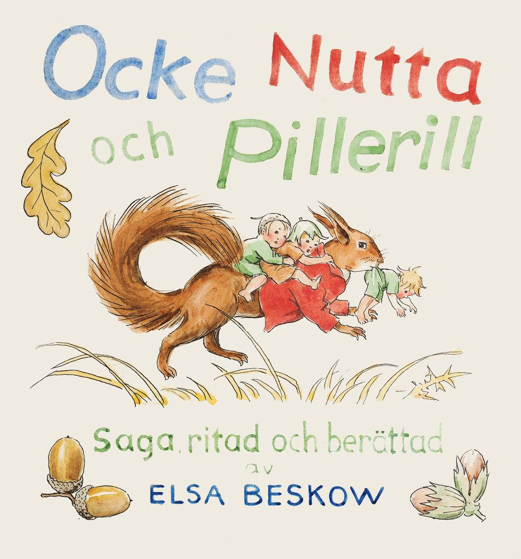 Elsa Beskow  16 original water colors from the book  Ocke, Nutta och Pillerill, 1939 Circa 20 x 18 cm each