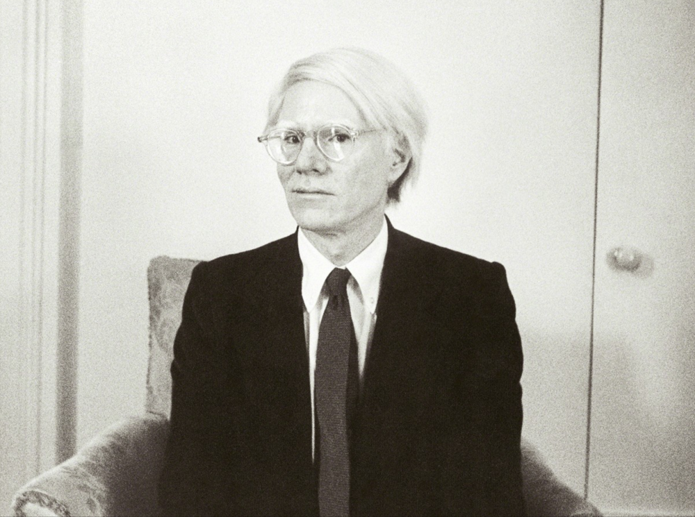 Christophe Von Hohenberg   Andy Warhol  Digital Print on Hahnemühle 43.2 x 55.9 cm