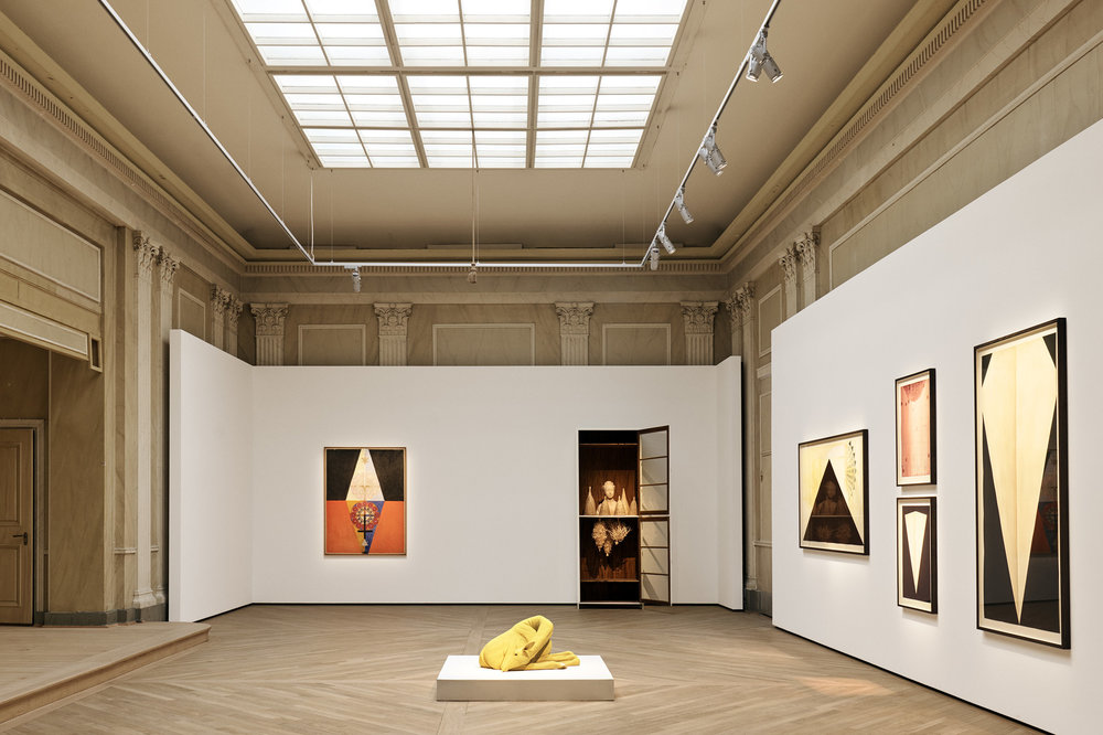 Hilma af Klint   How amazing is it that Hilma af Klint is going to have her very own show at the Guggenheim in New York? Now, the whole world is getting wise to the fact that she was the first artist to make completely abstract paintings, way back in 1906. This is definitely the art event of the year. Also, it makes us feel even more honoured to have an agreement in place with the Hilma af Klint Foundation, which allows us to loan new works from them once a year. Anybody who visits us gets a dose of her spiritual magic.