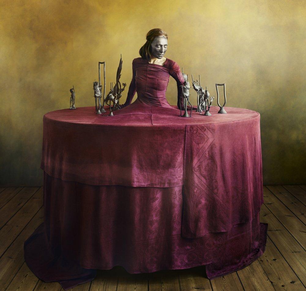 Photo: Denise Grünstein,  Renaissance Red , 2018