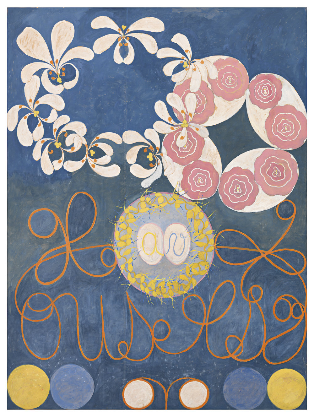 Hilma af Klint  Group IV, no 1. The Ten Largest 315 x 234 cm Edition of 10 + 2 AP 75% New Zeeland wool, 25% silk Hand-knotted