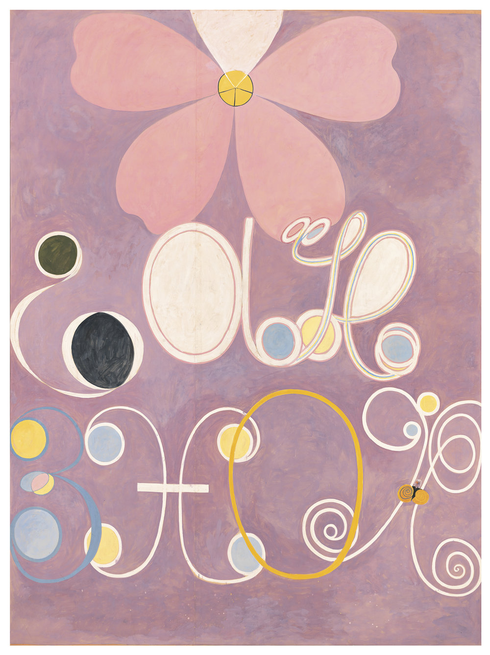 Hilma af Klint   Group IV, no 5. The Ten Largest  315 x 235 cm Edition of 10 + 2 AP 75% New Zeeland wool, 25% silk Hand-knotted