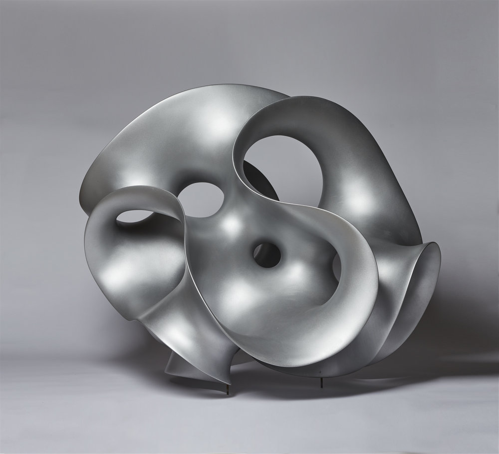 Eva Hild   Loop , 2011 Aluminium 85 x 115 x 85 cm Courtesy Galleri Andersson/Sandström