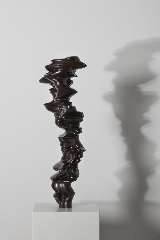 Tony Cragg   Eclipse , 2016 Bronze 95 x 32 x 30 cm Courtesy Galleri Andersson/Sandström