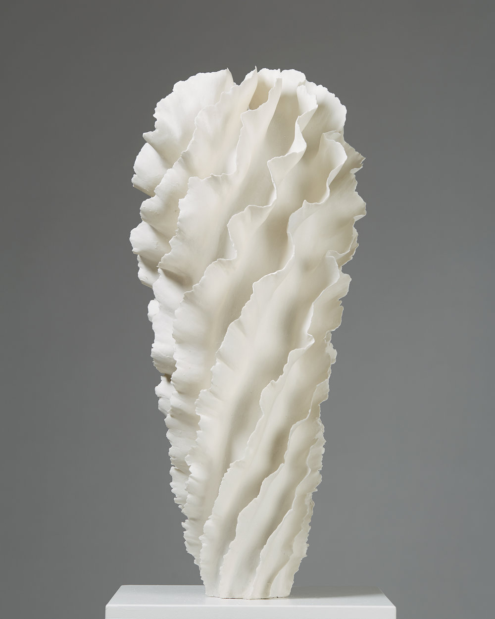 Sandra Davolio   Vase Denmark, 2018 Porcelain. 67,5 x 28 cm