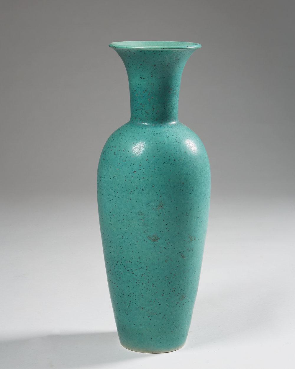Gunnar Nylund  Floor vase Sweden, 1950's Stoneware. 62 cm