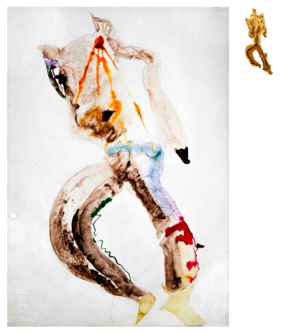 Ulf Rollof   Barkteckning 5  2019 61 x 50 x 10 cm Mixed media. Cotton Paper. Acrylic. Electrical.