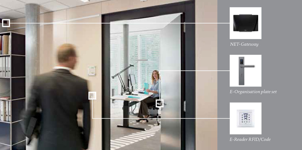 Smart Office: Convenient and secure access to offices and cabinets.