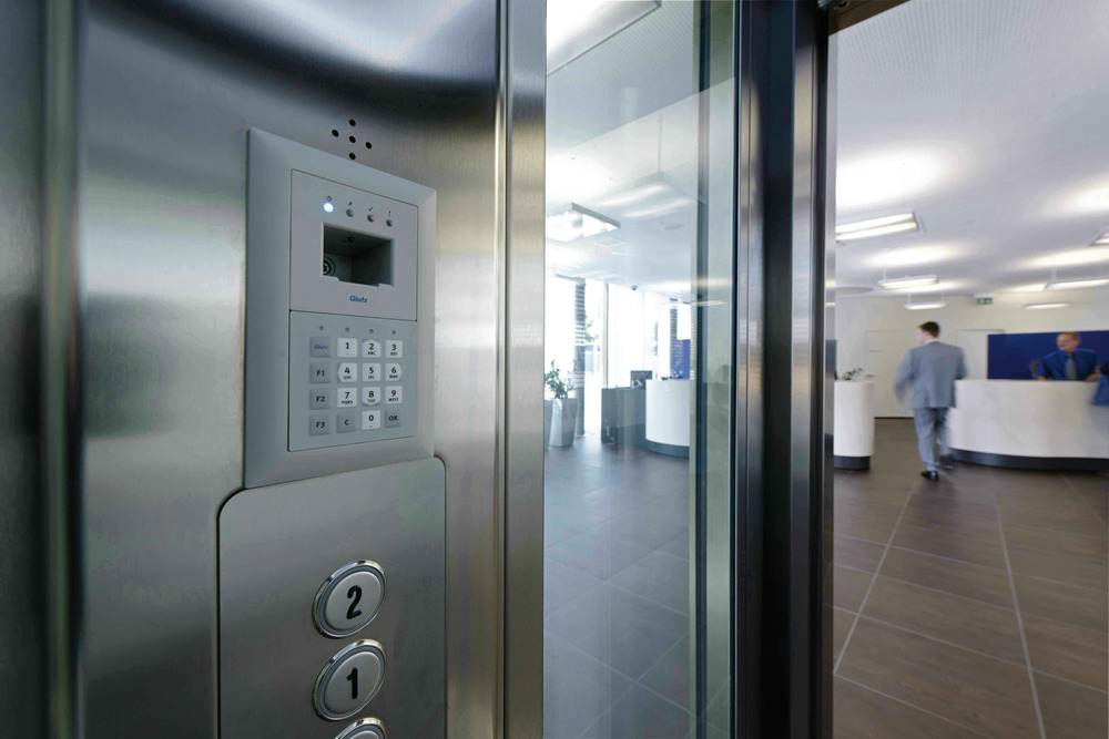 The Glutz eAccess card will give you access to your office, meeting rooms and cabinets containing restricted client information.