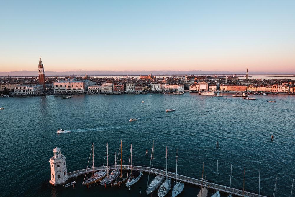 Venezia, view from  Chiesa di San Giorgio Maggiore