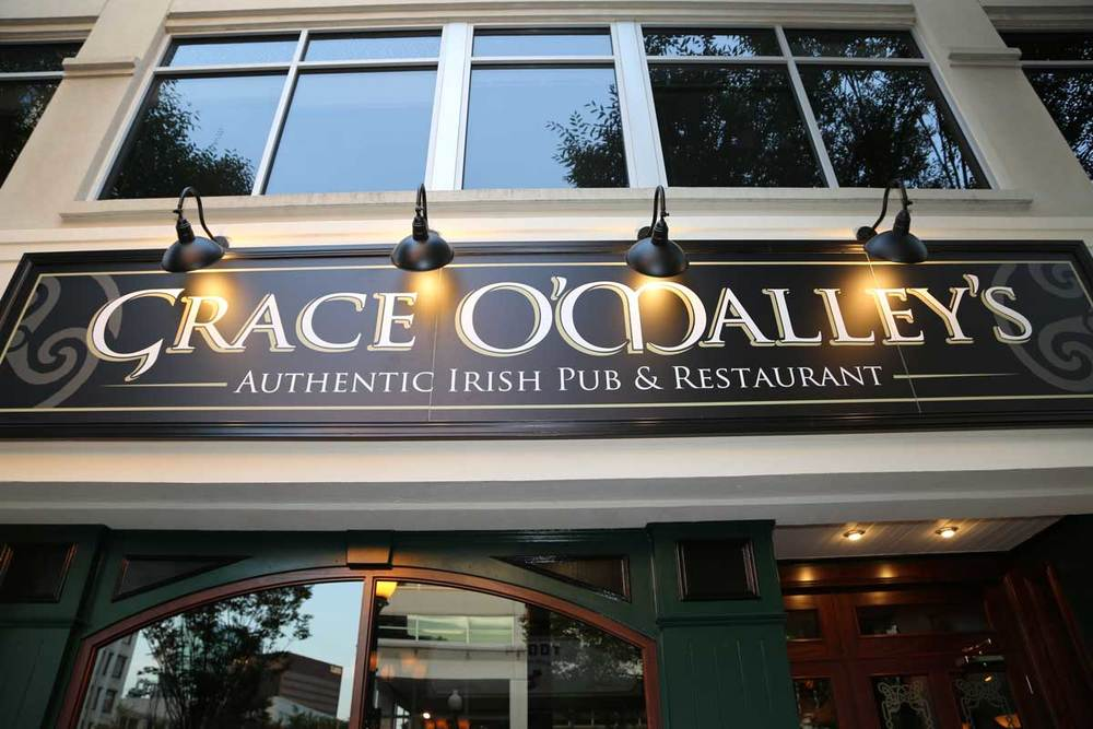 Grace O' Malley's Irish Pub sign