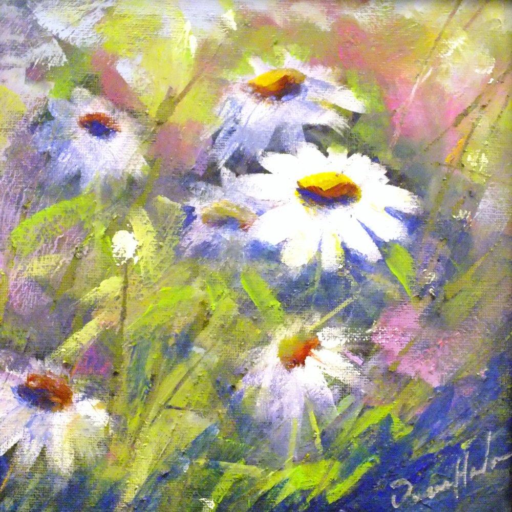 Wild Flowers#3  8 x 8 $125.00