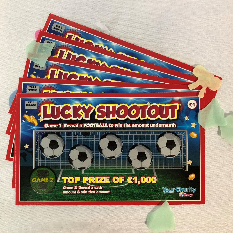 Lucky Shootout Scratch card