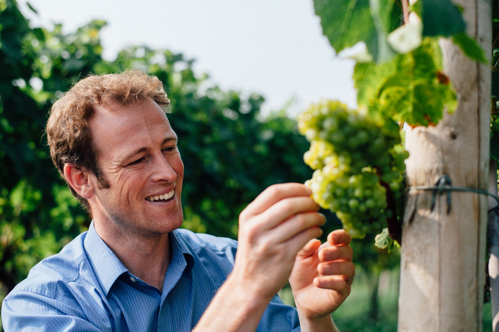 Castle Brook Vineyard Owner, Chris Chinn