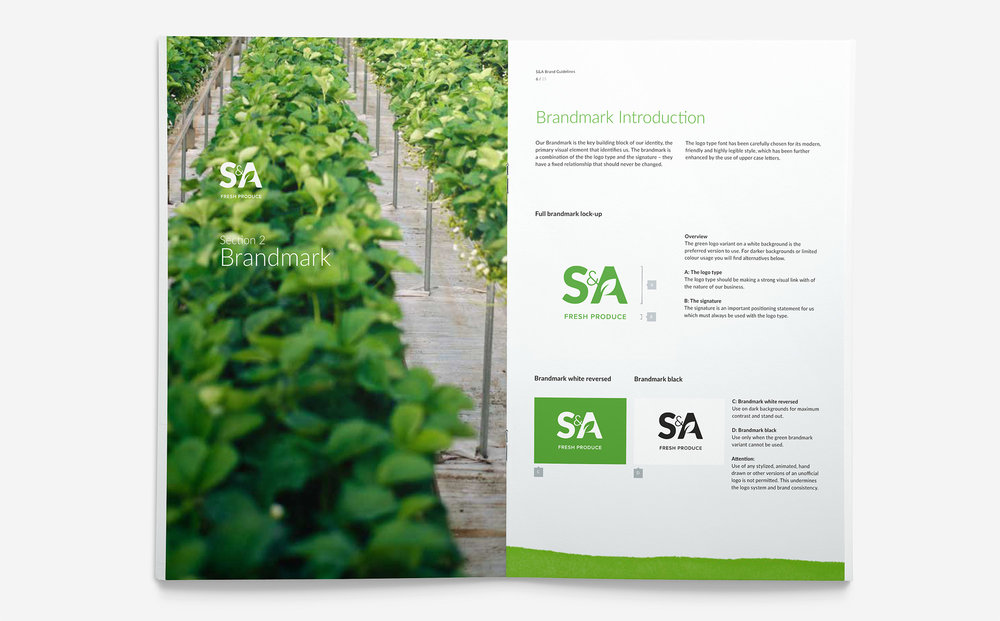 S&A Produce Brand Book