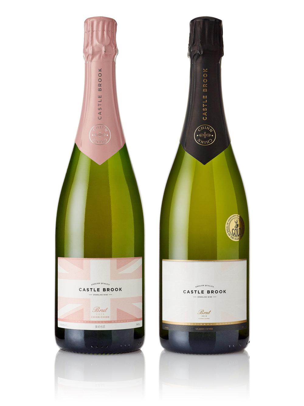 Castle Brook Vineyard's English Sparkling Wines