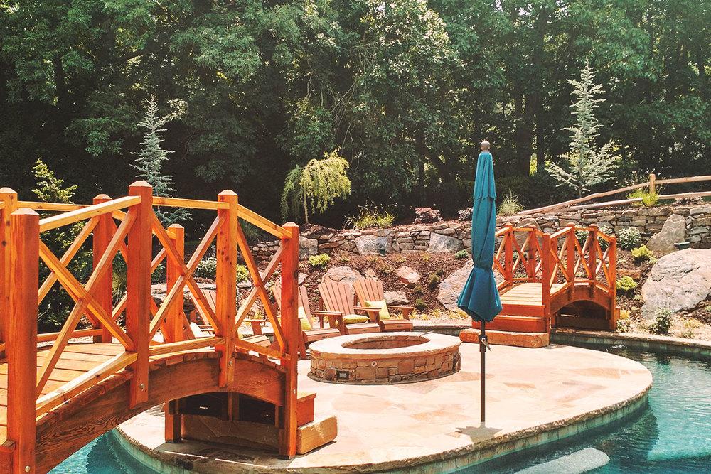 hand-crafted bridges