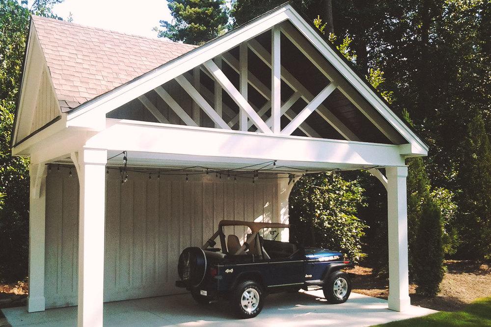 custom carport