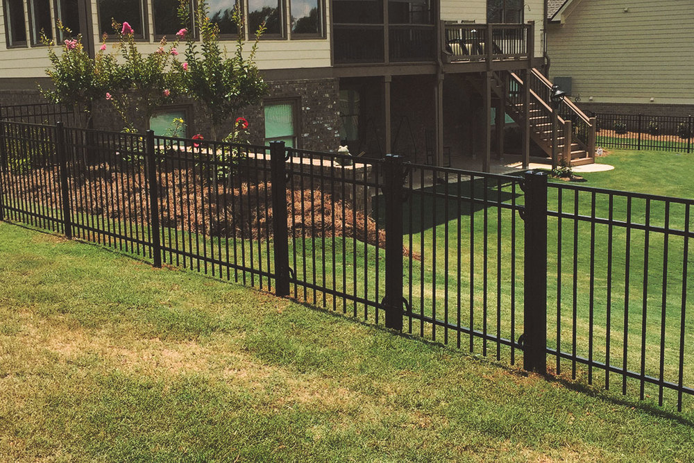 double walk gate, aluminum