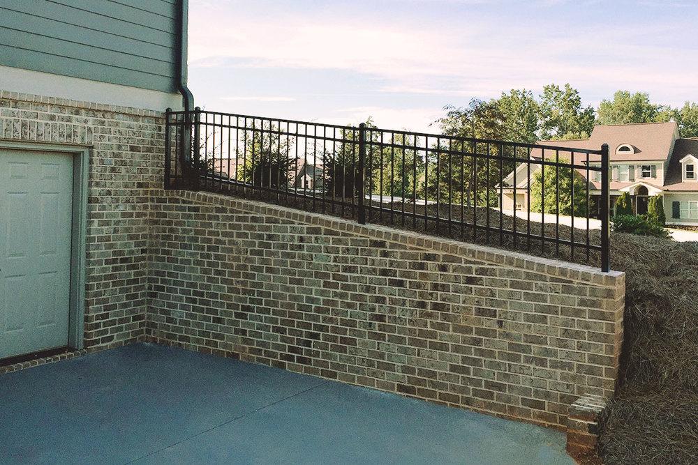 flat top (railing)