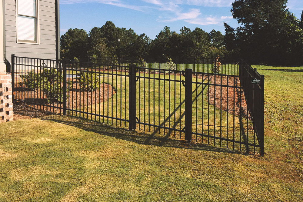 single walk gate, aluminum