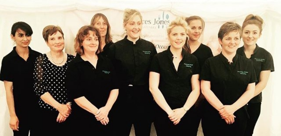 Frances Jones and her team