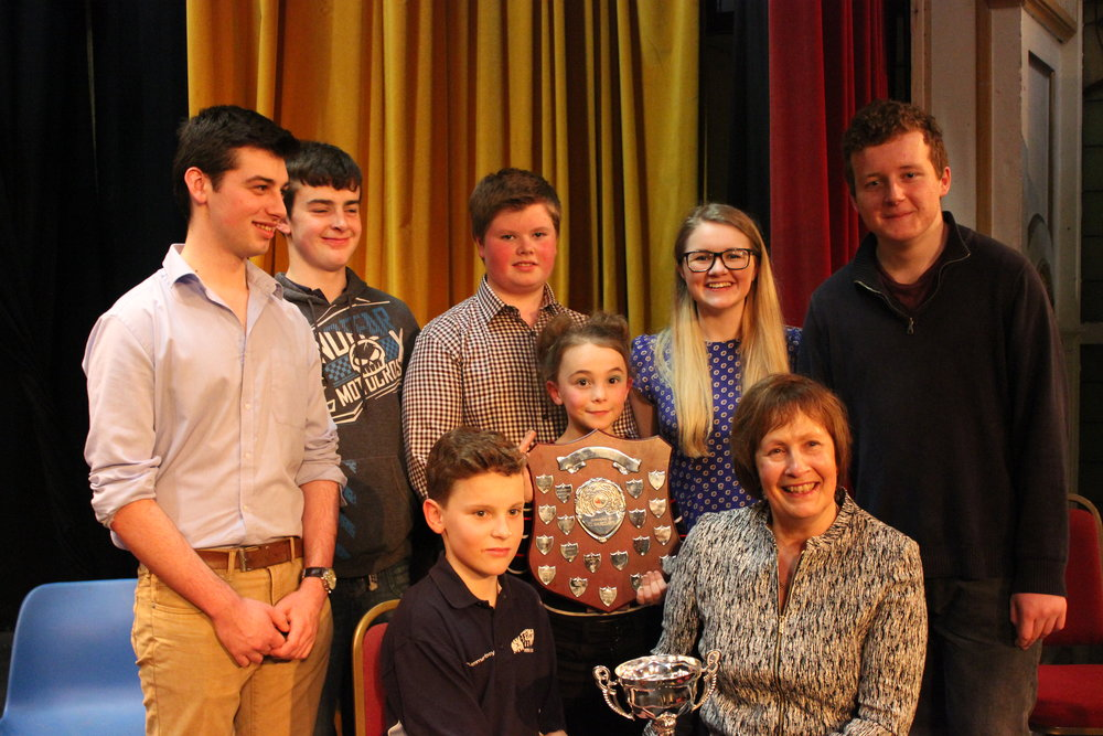 Edw Valley YFC - Winners of the One Plus Competition