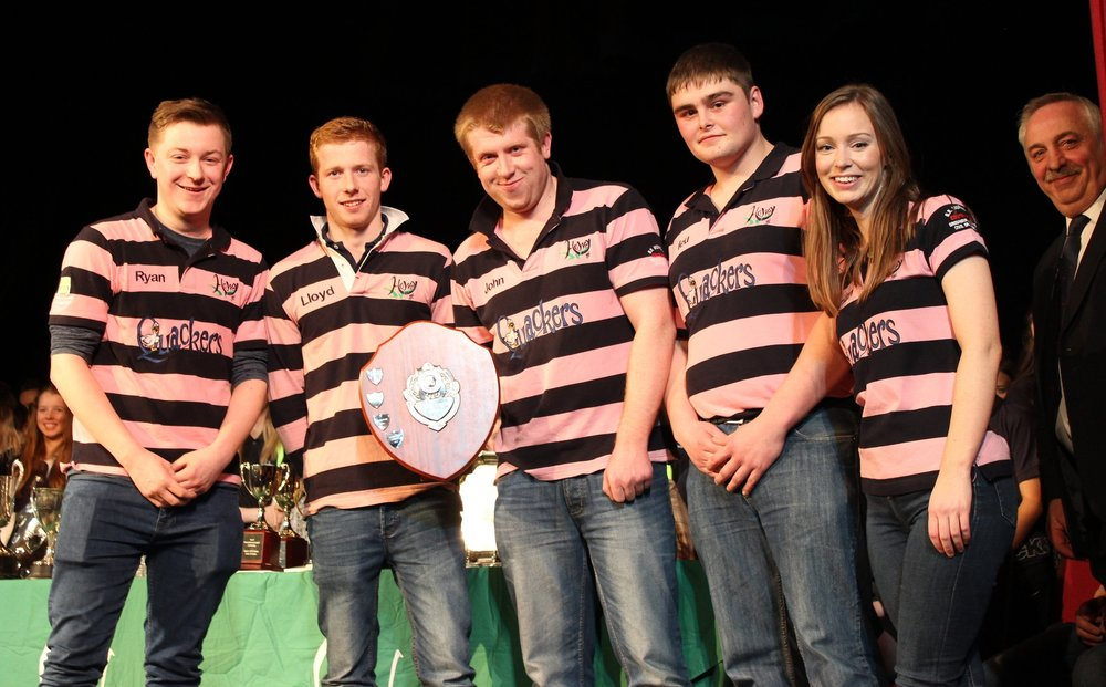 Howey YFC - Delyth Powell Shield, Winners of the Time to Shine Competition