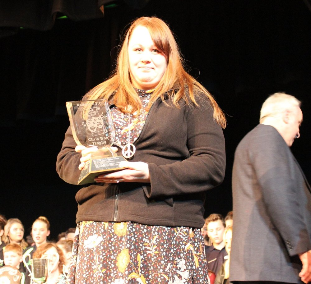 Nigel & Sophie Protheroe - Rhosgoch YFC - Chris Woz Trophy - Best Script