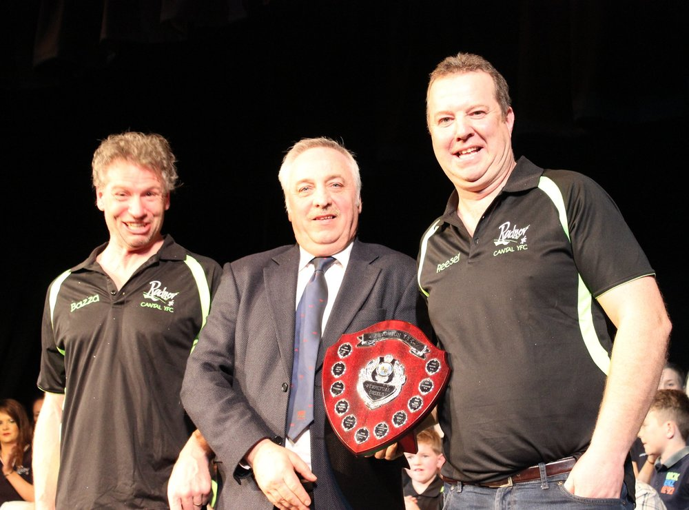 Barry Bevan & Gareth Rees - Cantal YFC - Knighton YFC Shield - 3rd Place