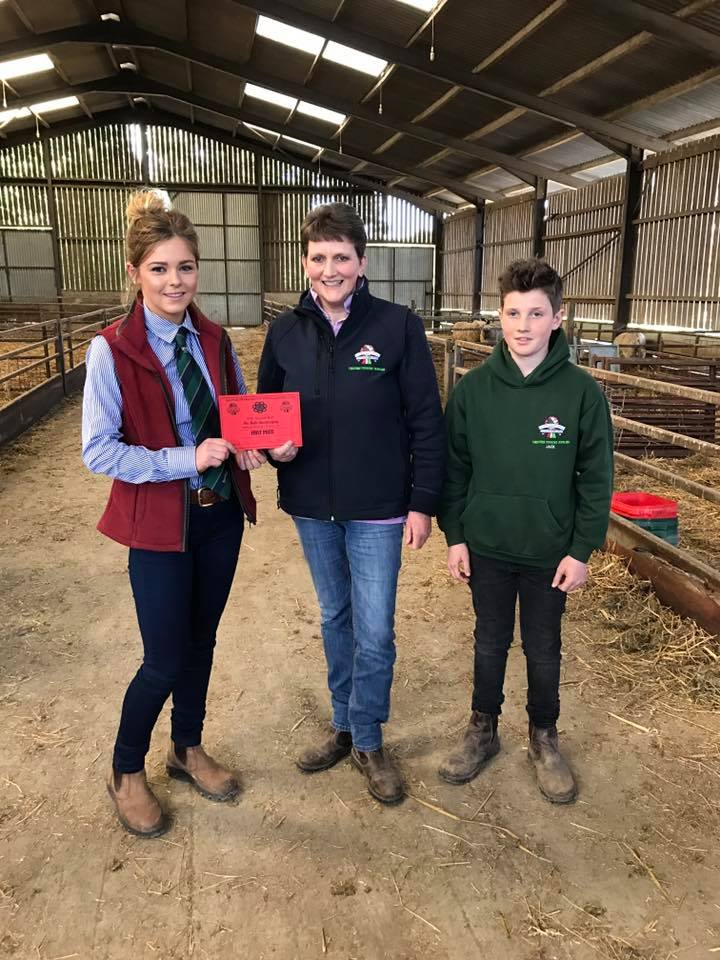 Ellie Owens, Presteigne YFC Under 21