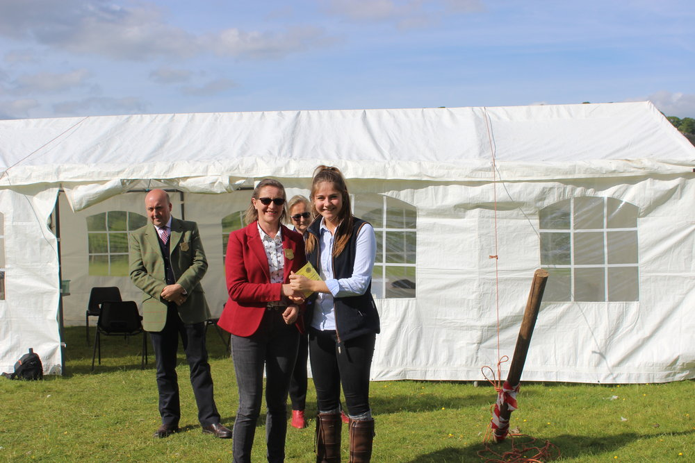 Charlotte Jones, Radnor Valley YFC Under 21