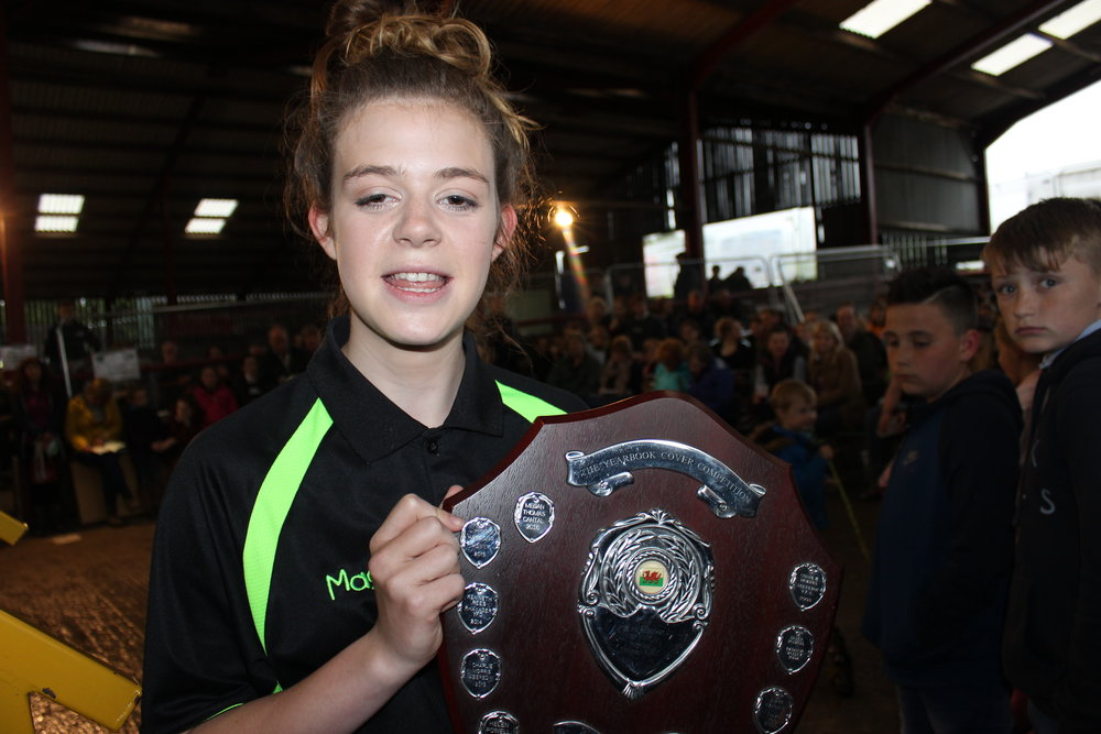 Meg Thomas, Cantal YFC - Caleb Roberts Shield (Yearbook Cover)