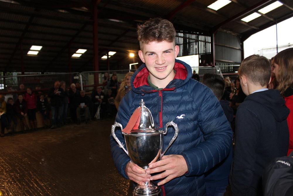 Aeron Powell, Aberedw YFC - Jonathon Ruell Memorial Cup (Highest Pre Rally Stockjudging Mark)