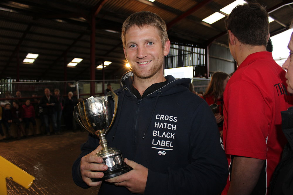 Paul Dyke, Edw Valley YFC - The R A Lister Trophy (Senior Shearing)