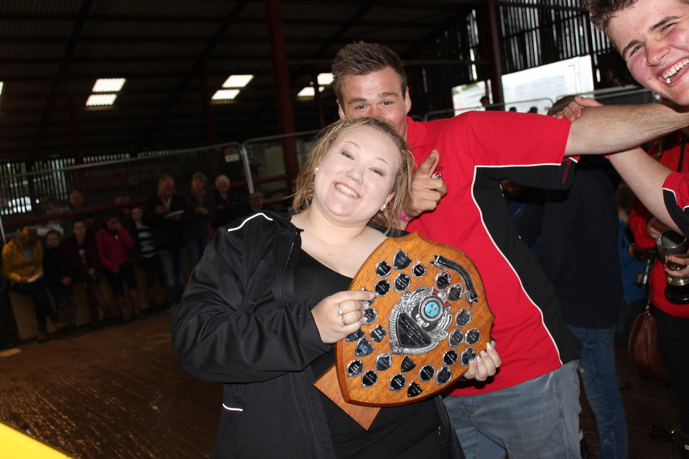 Rebecca Williams, Edw Valley YFC - Mrs Margaret Davies Shield (Dressing Up & Generation Game)