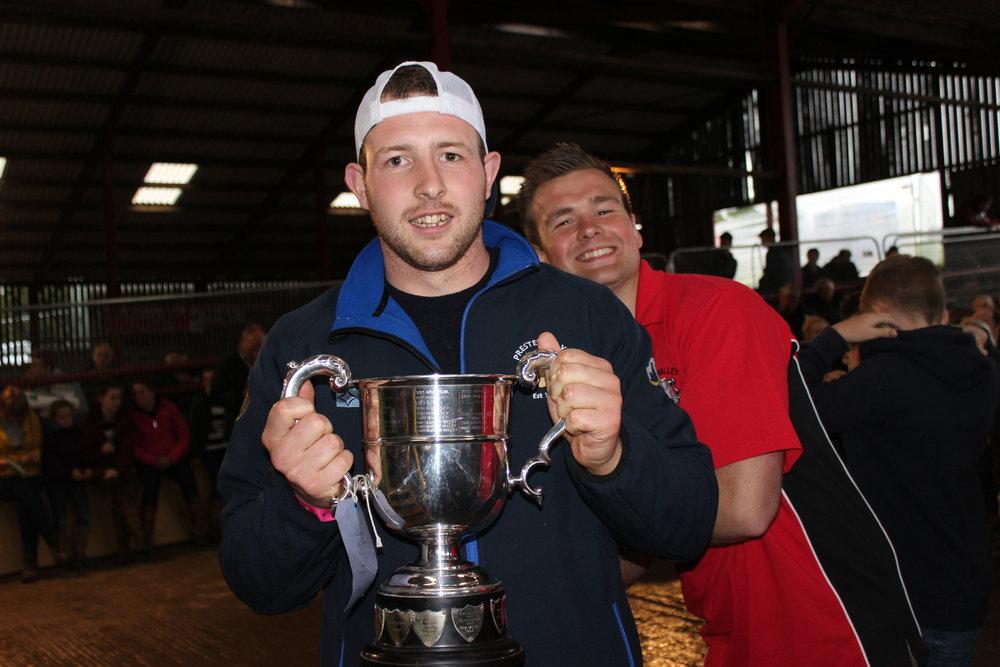 Owen Davies, Presteigne YFC - T O Nicholls Trophy (Rally Day Stockjudging)