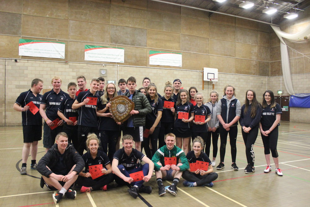 Radnor Sports Day Winners: Radnor Valley YFC