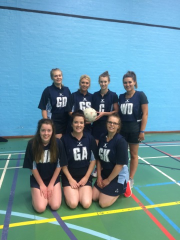 Ladies Netball Team: Rhayader YFC