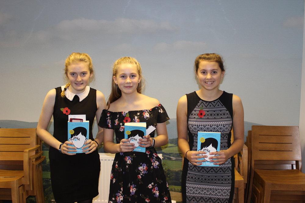 Presteigne (A) YFC - Chloe Preece, Daisy Tyler & Seren Rhodes