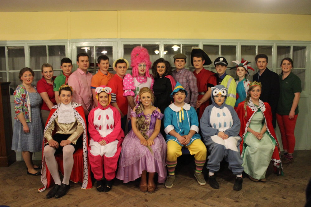 Teme Valley YFC performed their Pantomime 'A Tangled Tale'.