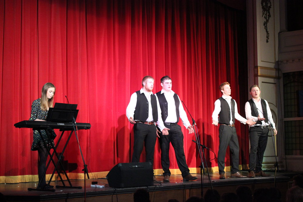 'Howey Entertains' certainly entertained everyone with their Time to Shine.