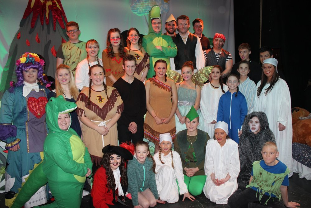 Edw Valley with 'Fly to Neverland' - 3rd Place Pantomime