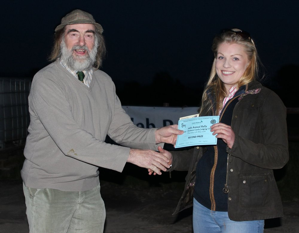 Sioned Price, Knighton YFC