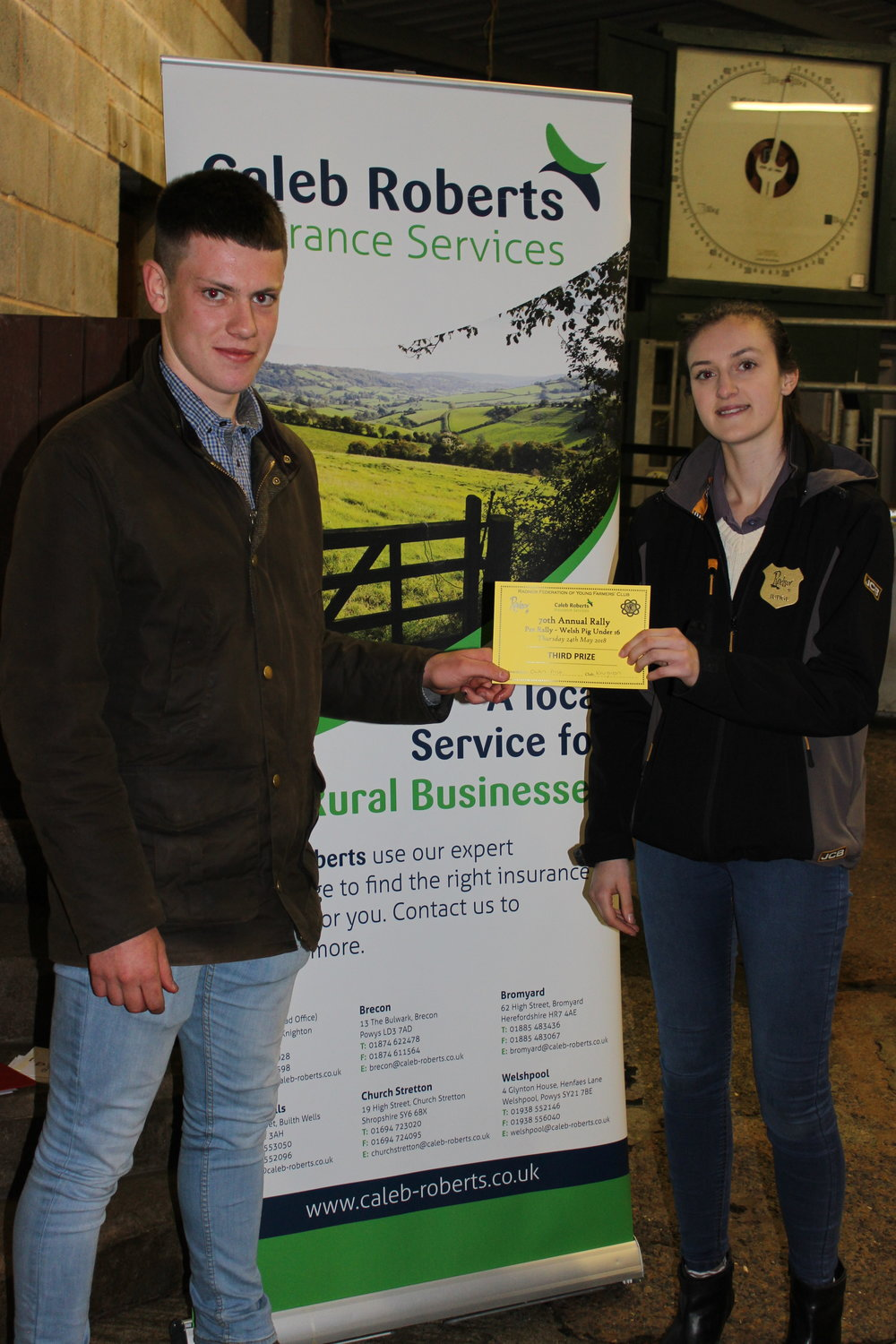 Owen Price, Knighton YFC