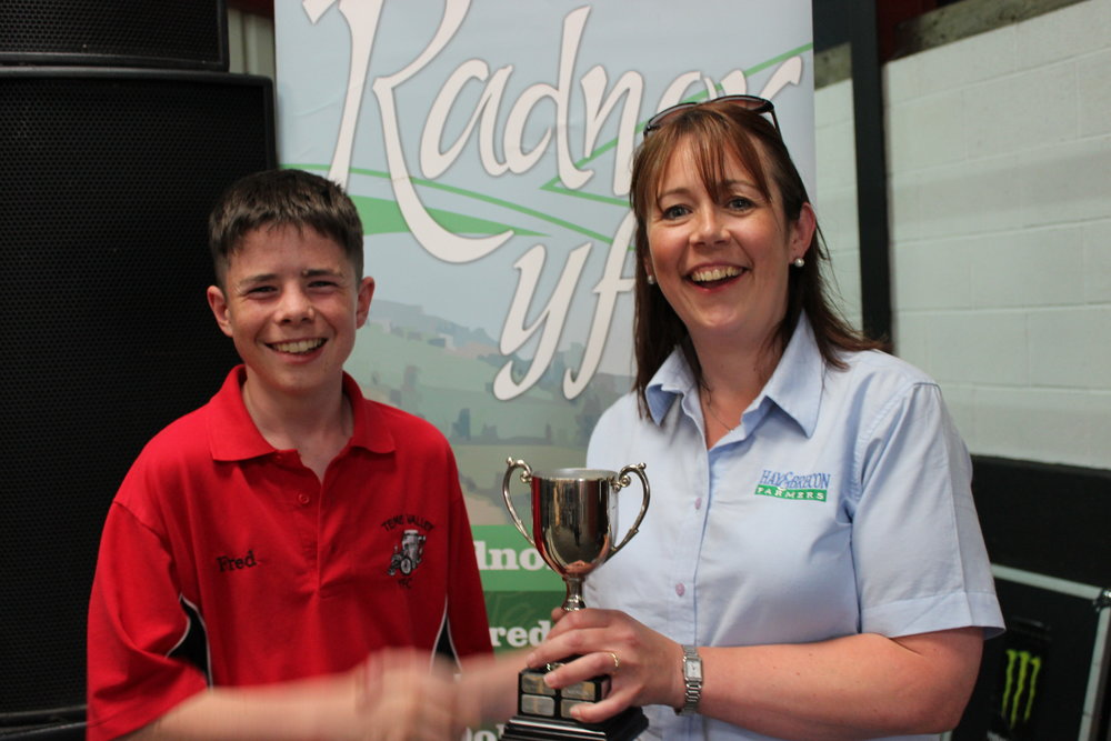 Alfred Reynolds, Teme Valley YFC - The Ian Inglis Novelty Cup / Pallet Recylcing & Junior Challenge Competitions