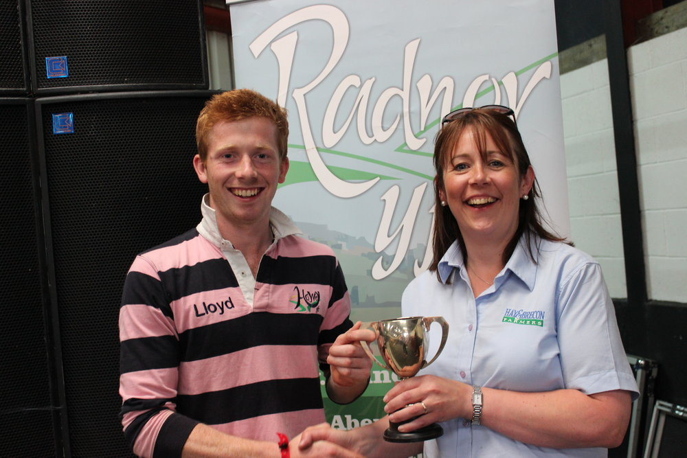 Lloyd Hammond, Howey YFC - West Bromwich Building Society Trophy / Pre Rally Stockjudging Competitions