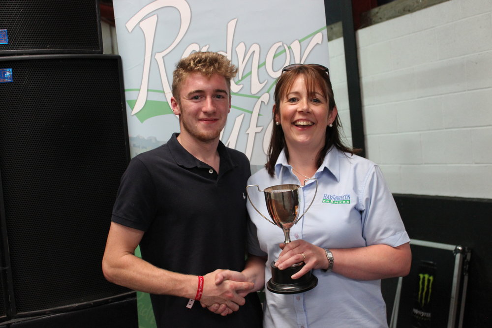 Shuan Fairclough, Howey YFC - Mr J Davies Cup / Intermediate Shearing Competition
