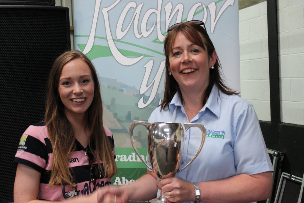 Rhian Hammond, Howey YFC - The PRH Tantrum Cup / Promote Your Club, Promotional Video & Wool Handling Competitions